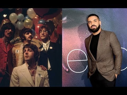 Drake Get's A Tattoo In Honor Beating The Beatle's Record