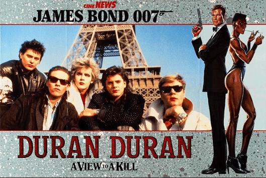 A view to a kill Duran Duran al numero uno, della classifica del 9 settembre 1985.