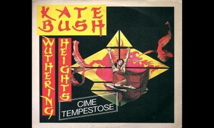 "Ottobre 1978: il brano ""Wuthering Heights"" di Kate Bush #1 delle hitchart."