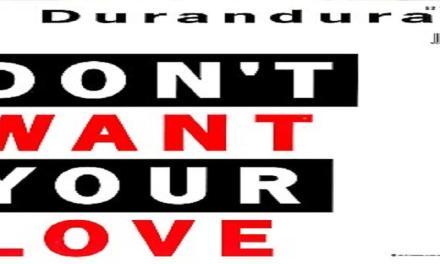 """Ottobre 1988: il brano """"I don't want your love"""" dei Duran Duran #1 delle hitchart."""
