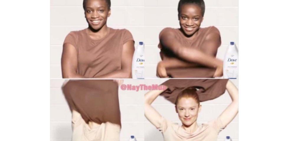 Spot shock (e razzista) sul sapone: usandolo, l'attrice diventa bianca