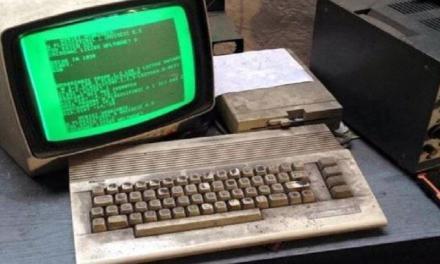 Officina polacca usa ancora un Commodore 64