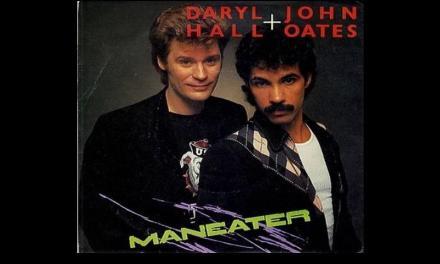 """Dicembre 1982: il singolo """"Maneater"""" del duo Dary Hall & John Oates #1 della hitchart"""