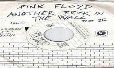 "Gennaio 1980: oggi in Italia usciva il singolo ""Another Brick In The Wall (Part 2)"" dei Pink Floyd."