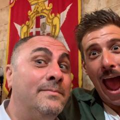 Malta, Enzo Sangrigoli intervista Francesco Gabbani (video da Youtube)