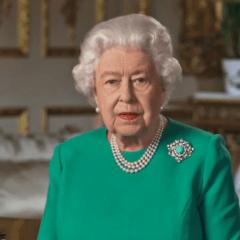 "La Regina Elisabetta II : ""Vinceremo e torneremo insieme"""