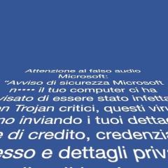 "La truffa dell'audio Microsoft. La Polizia Postale: ""La truffa corre sul filo"" (video da YouTube)"