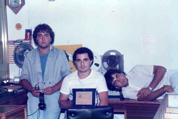 Storia di Radio Gioiosa Marina, anno 1990. Targa ricordo