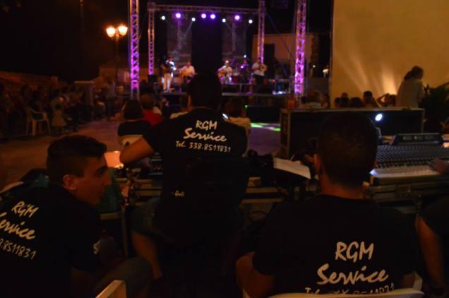 Andrea Staltari staff di RGM service audio luci Radio Gioiosa Marina