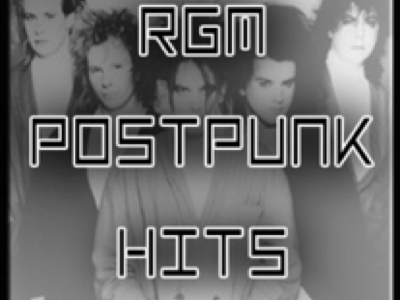 Logo RGM post punk hits Radio Gioiosa Marina