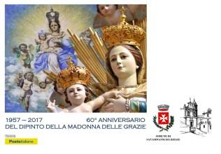 cartolina celebrativa Madonna delle Grazie san giovanni di gerace radio gioiosa marina rgm news
