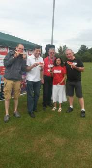 The Radio Harrow Team at SKLPC - Fun Day