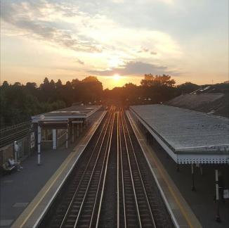 DAY 32 - Aug 1st - Pinner Station by @2_theorchard