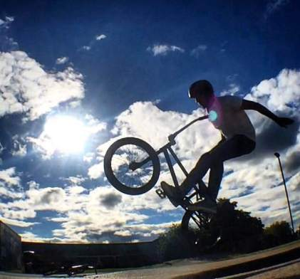 DAY 6 - Tues 7th July - Harrow Skate Park by @viraj_radia