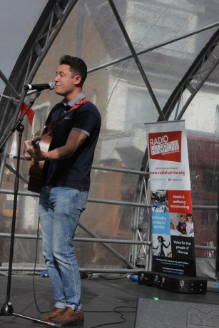 Tom Livingstone at the Harrow Town Summer Festival