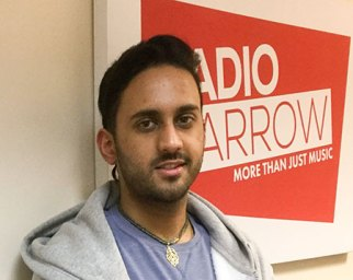 Milan Parmar joined the studio to talk about his music and his job as a radiology department assistant