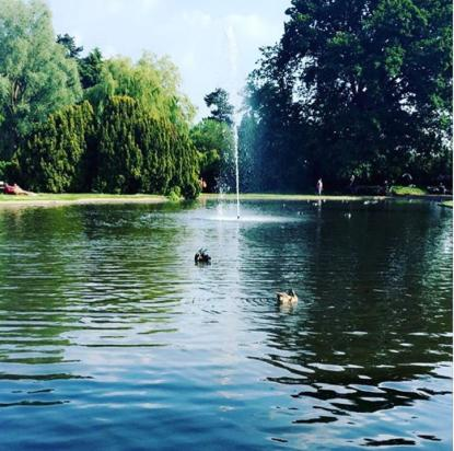 DAY 23 - July 23 - Pinner Park by @duvetdays9