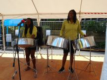 A performance from the Steel Pan Band