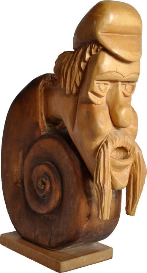 4_Lucrare Sculptura Naiva Costel Iftinchi
