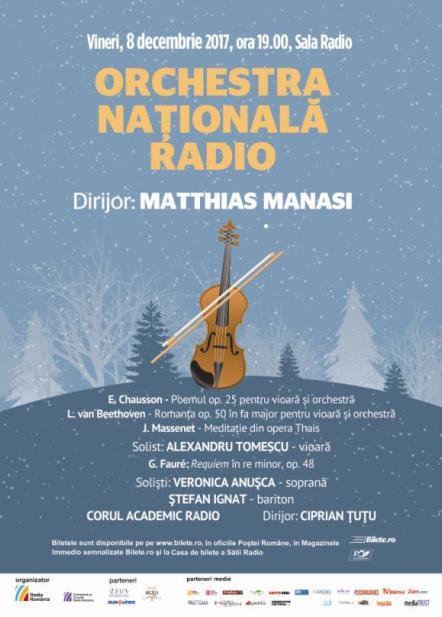 Concert ONR 8dec afis