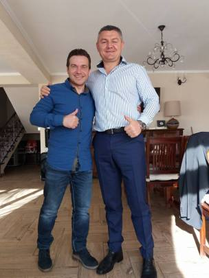 Ion Lazarenco Tiron si Avram Iancu