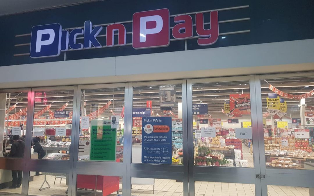 Pick n Pay in Trade Route Mall Lenasia Closed After Alleged Case of COVID-19 Infection