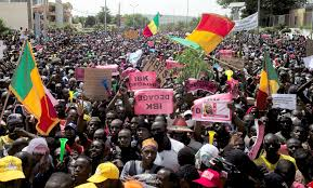 Protestors Ransack Mali Ruling Party Offices