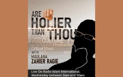Are You Holier Than Thou – Part 9 – Ml Zahier Ahmed Ragie