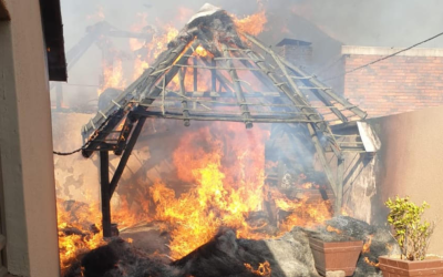 [LISTEN] Cllr Zarina Motala Thanks Lenasia Community for Assistance after Veld Fire Spreads to Three Homes