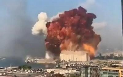 Massive Explosion Hits Beirut