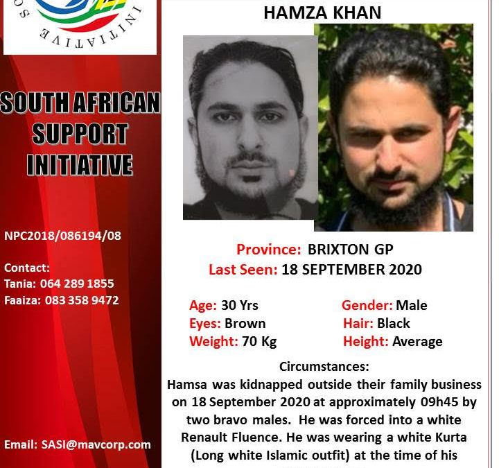 [WATCH & LISTEN] Modus Operandi in Hamza Khan Kidnapping Similar to Other High Profile Kidnappings in SA
