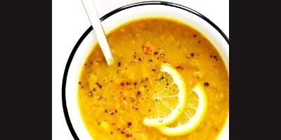 Lemony lentil soup (17.05.18)