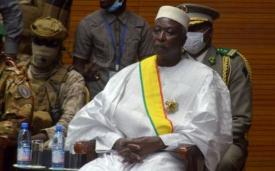 Mali's Transitional President Sworn In