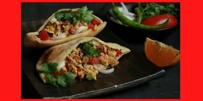 Pitta Chaat recipe