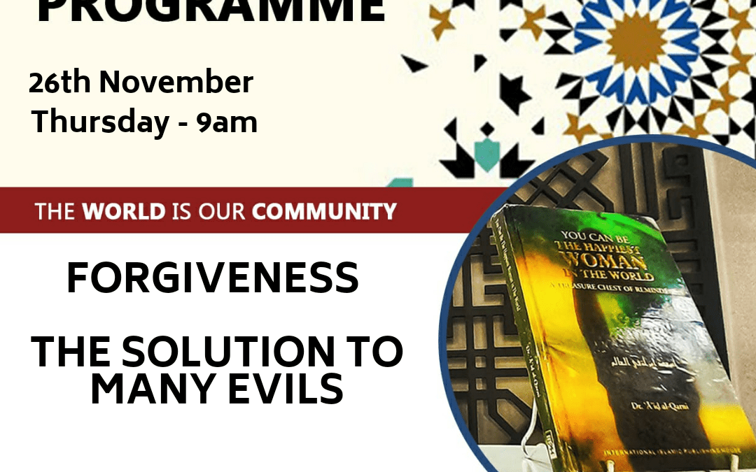 The Social Programme – Forgiving People