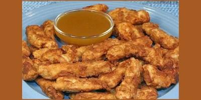 Honey and Mustard chicken Strips