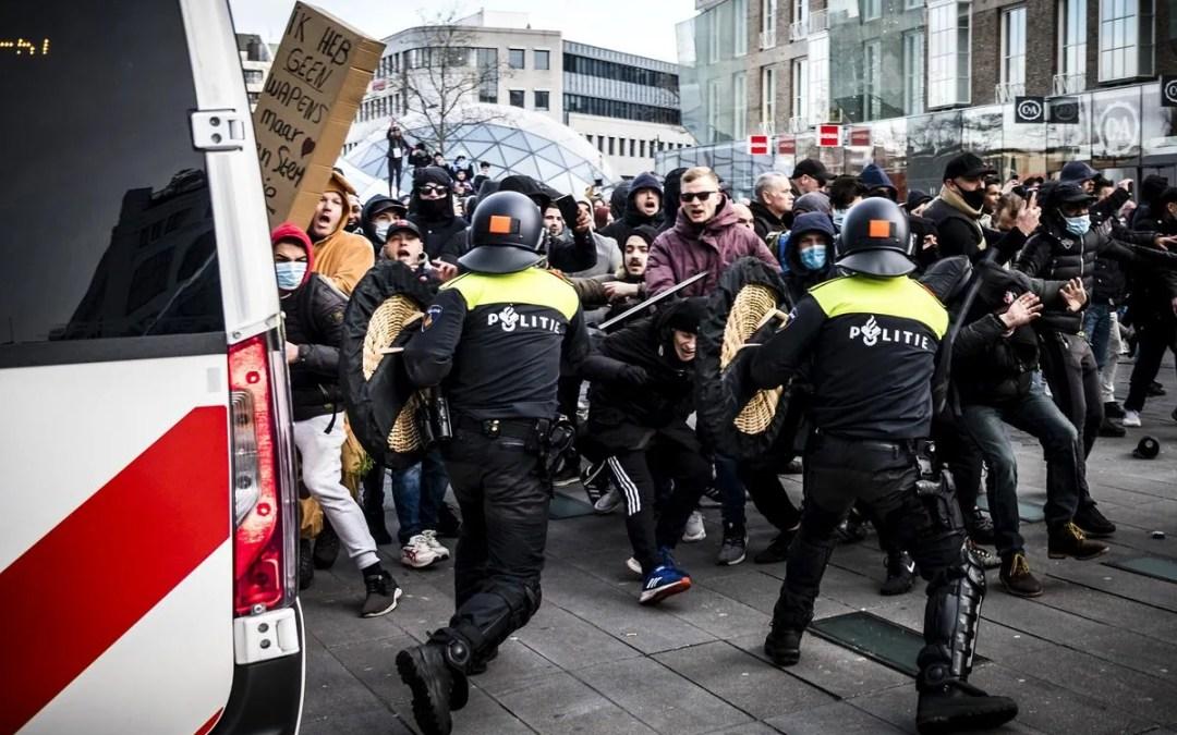 Netherlands Riots Violently against Lockdown