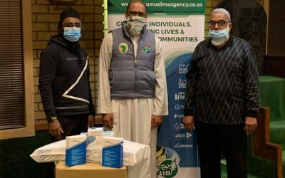 [LISTEN] Africa Muslims Agency Donates O2 Concentrator & Other Equipment to Lenasia South Muslim Association to Battle COVID-19