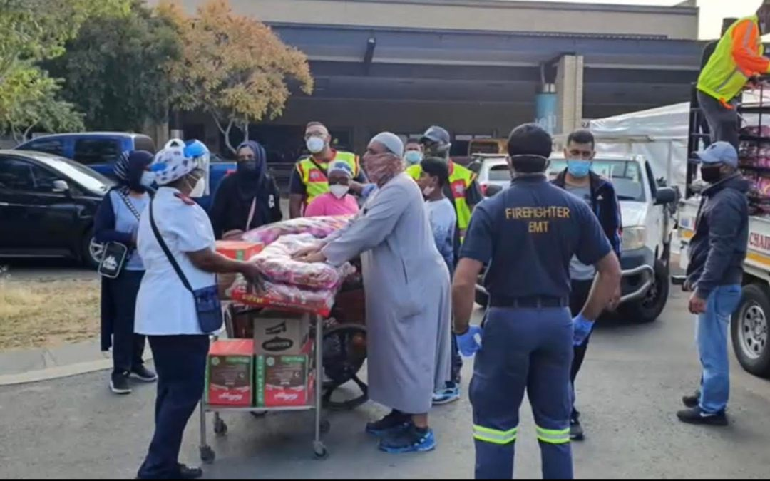 Muslim Organisations at the Forefront of Assisting with Relief Aid After Devastating Fires at Charlotte Maxeke Hospital & in Cape Town