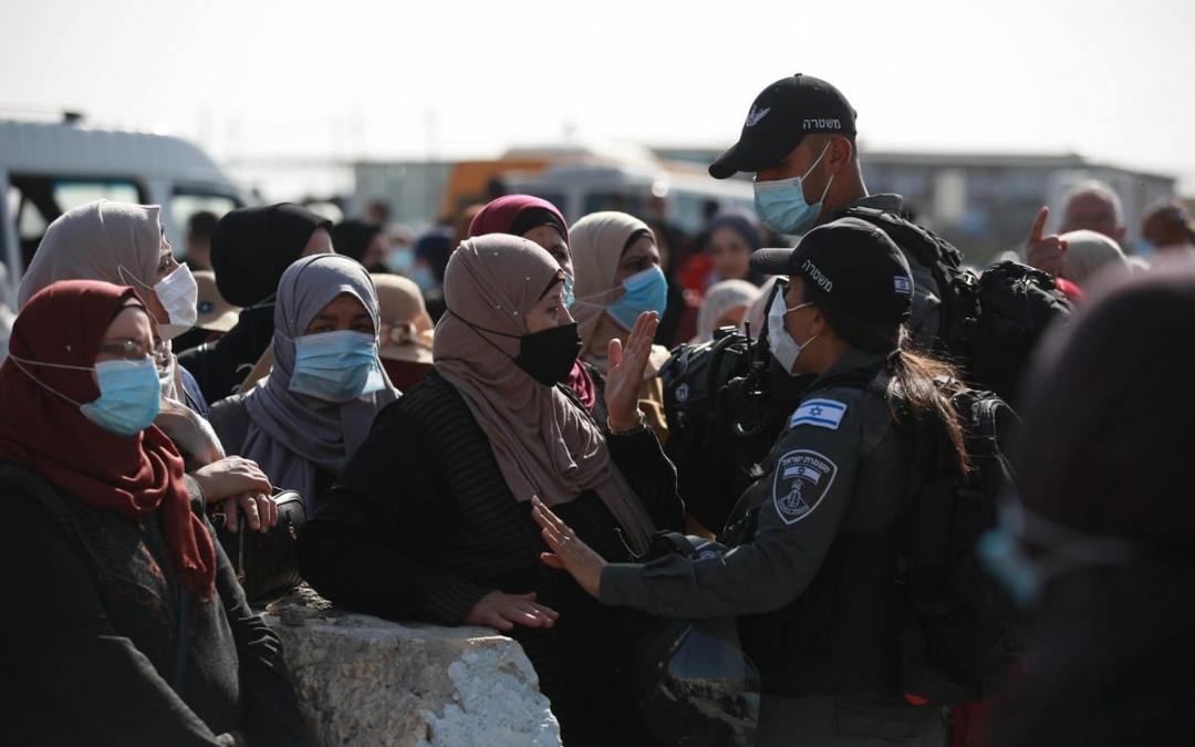 Non-Vaccinated Palestinians Prevented by Israel from Entering Al-Aqsa Mosque