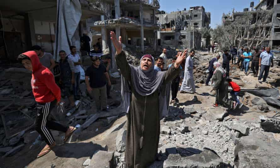 Palestinian Death Toll Rises as Israeli Occupation Forces Continue Attacks in Gaza Also Hitting House of Hamas Political Chief Yahya Sinwar