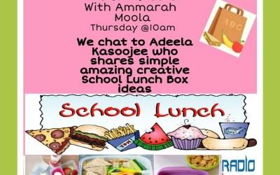 Household Express: We chat to Adeela Kasoo who shares simple Amazing Creative School Lunchbox