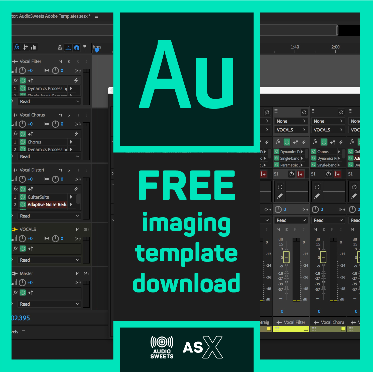 Download Free Logic, Pro Tools and Audition Templates for
