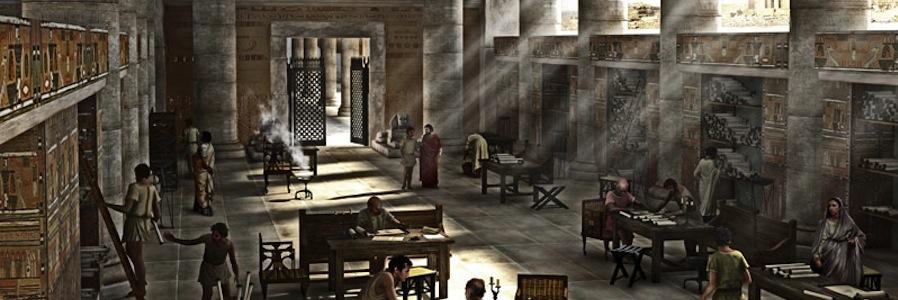 Ricostruzione della Biblioteca di Alessandria