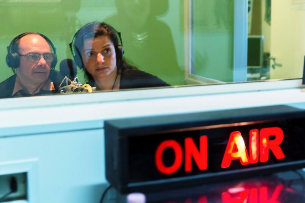 Pamela Toscano presenta La Ballata degli Elefanti su Radio Lab - foto di Alessandro Gruttadauria
