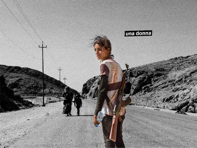 Il-teatro-degli-orrori-Una-donna-booklet-foto-ragazza-yazida-curda