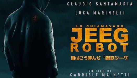 Banner Lo Chiamavano Jeeg Robot