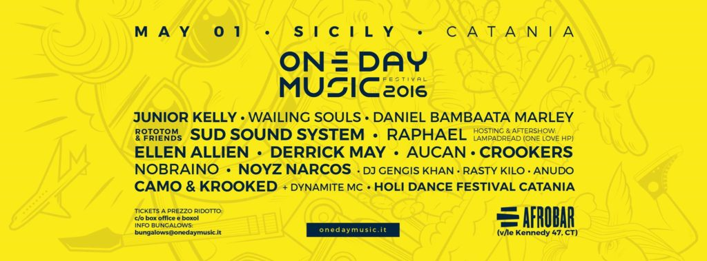 ONE DAY MUSIC 2016