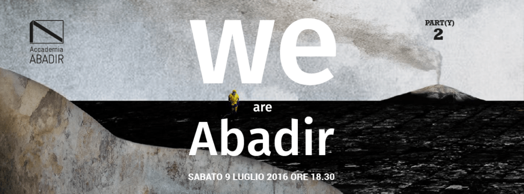 WE ARE ABADIR banner