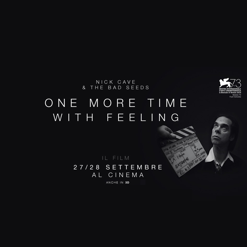 Nick Cave – One More Time With Feeling: in palio 4 biglietti!